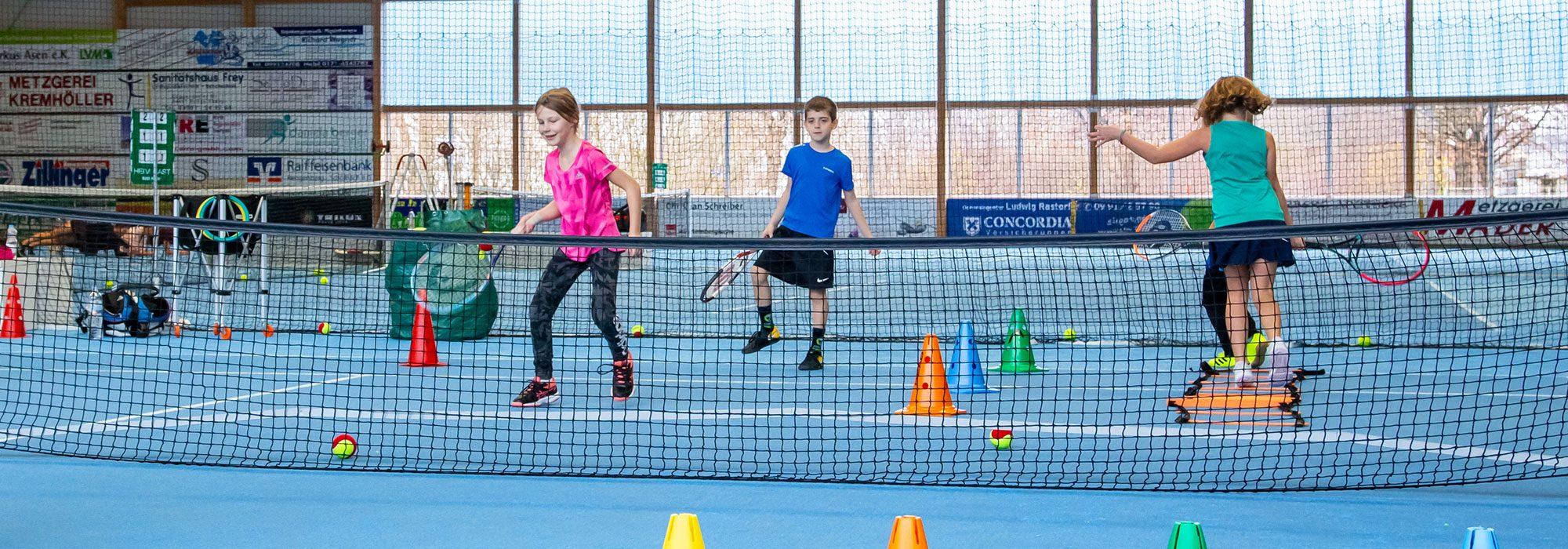 Kindergartentennis | Tennisschule Knogler