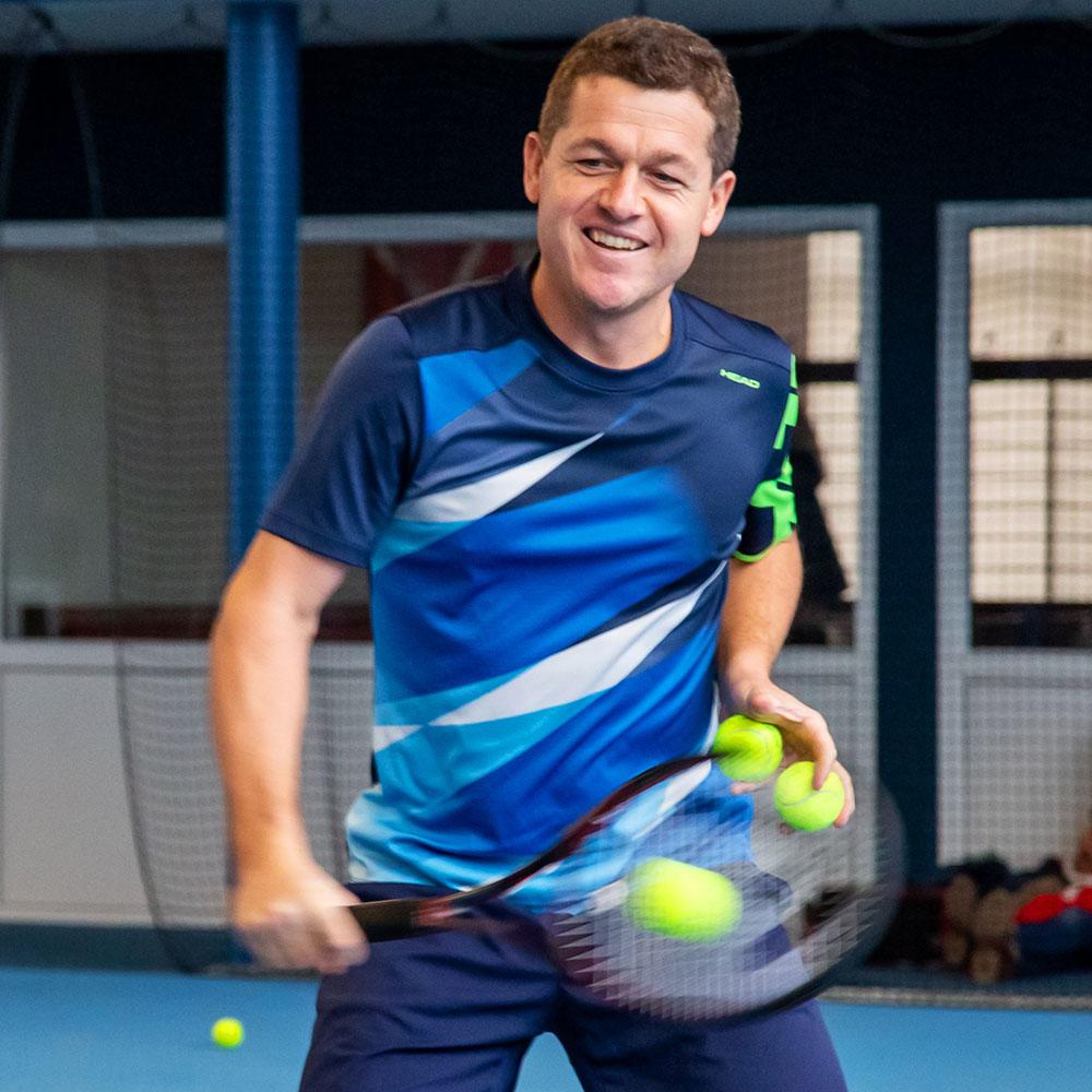 Raimund Knogler - Staatlich geprüfter Tennislehrer (VDT)