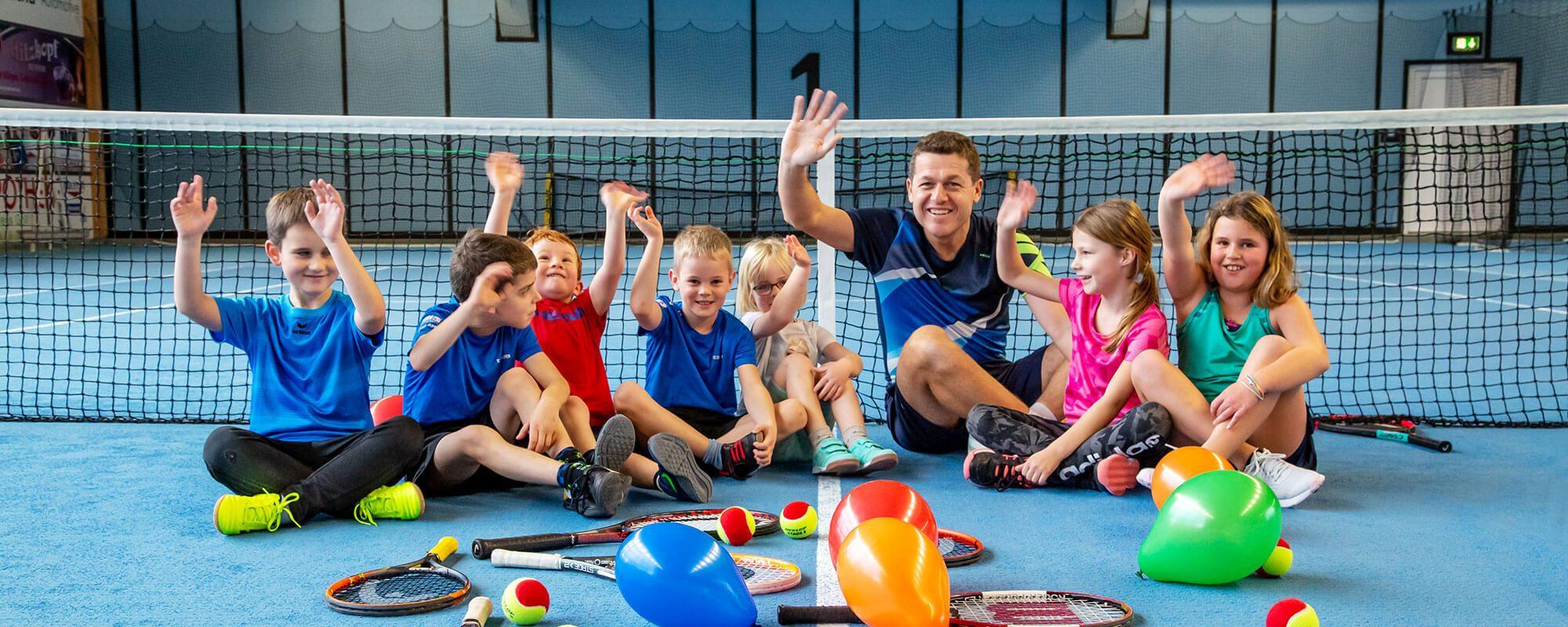 Kindertennis | Tennisschule Raimund Knogler