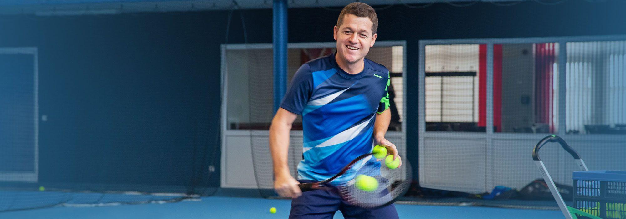 Tennistrainer Raimund Knogler | Ex-Bundesligaspieler