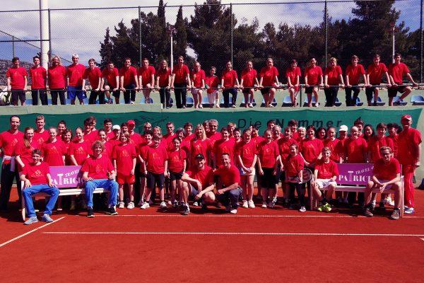 Trainingslager Kroatien Ostern 2013 | Tennisschule Raimund Knogler