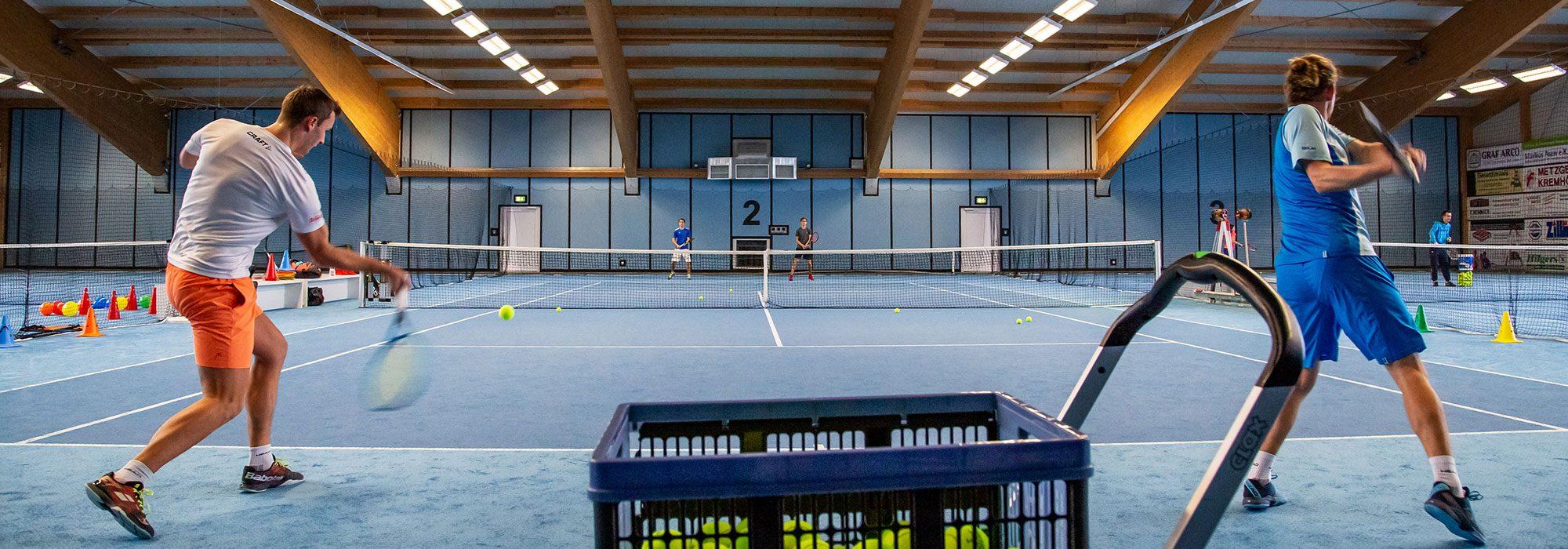 Tennis-Vereinstraining für Mannschaften | Tennisschule Knogler