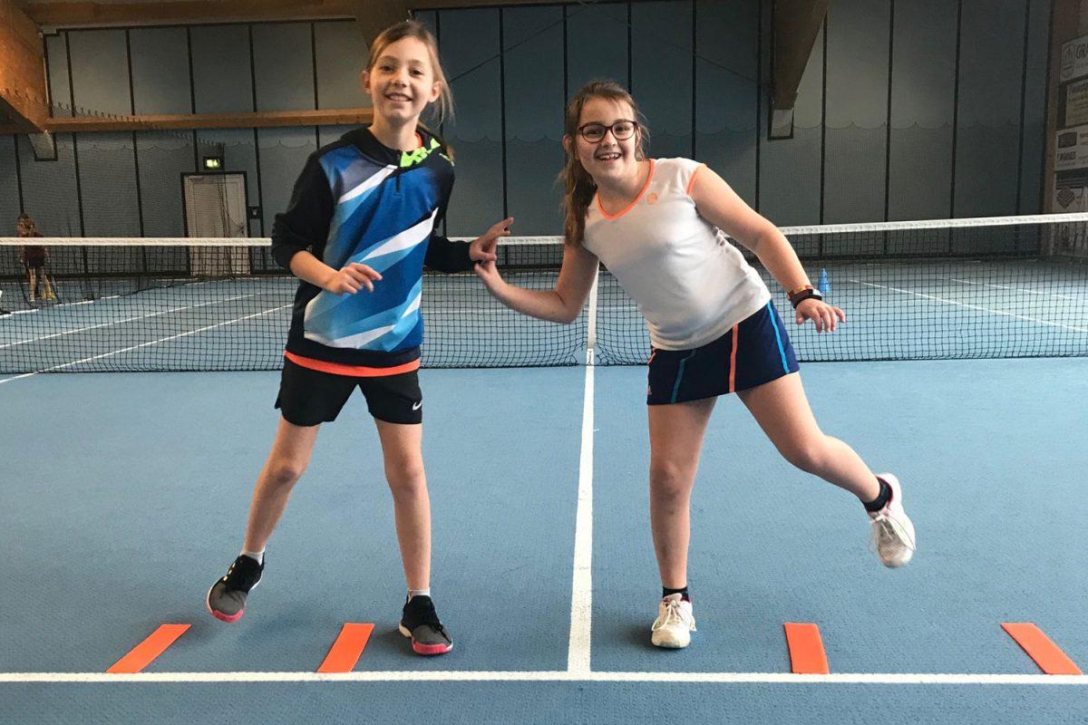 Carolin Landl & Paula Drasch | Tennisschule Knogler