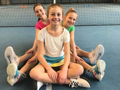 Ina Kandler, Marlene Niederlaender, Anna Hofbauer | Tennisschule Knogler