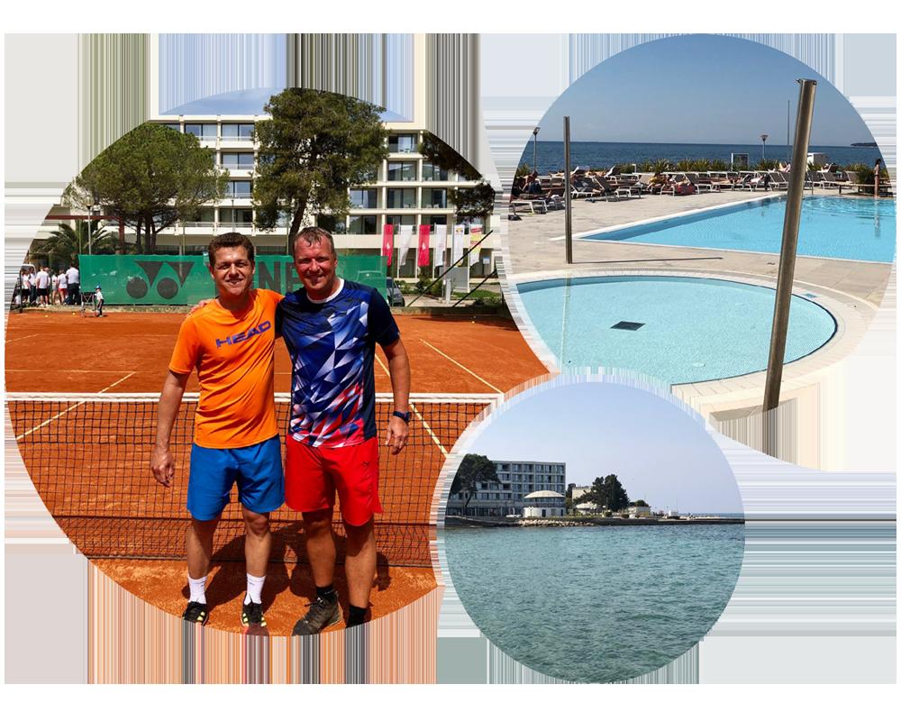 Tenniscamp Kroatien - Impressionen
